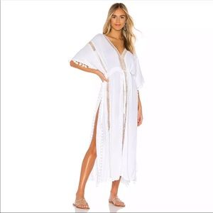 Other - WHITE MAXI BEACH COVERUP